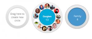 Google Circles - Google venner på en ny måde - Googles Sociale Medie